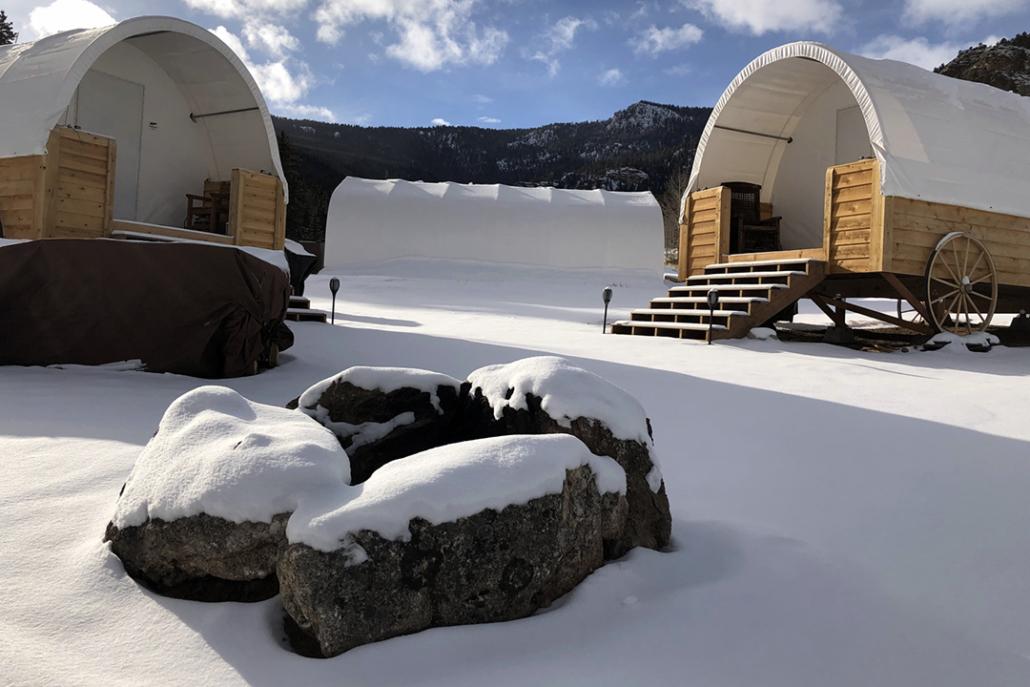 Conestoga Cabins at Puma Hills
